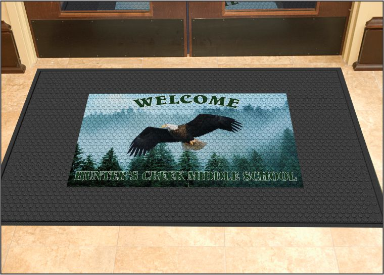 Logo Outdoor Mat