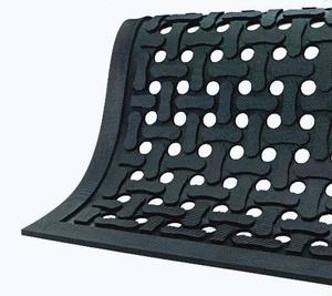 Best Wet Area Anti Fatigue Mat (drain holes)
