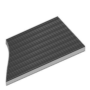 Static Dissipative Corrugated Runner