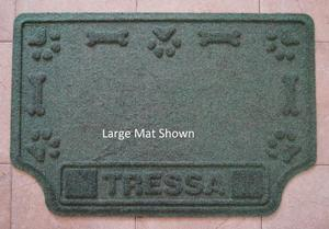Personalized Pet Food Place Mat